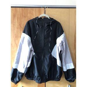 Jackets & Blazers - Color Block Hooded Windbreaker